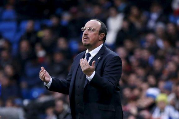- Benítez har fått sparken i Real Madrid