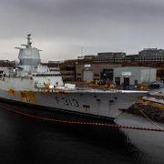 Har avdekket grove lovbrudd under arbeid med havarert fregatt - Forsvaret kan få millionbøter