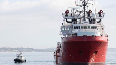 Norskeid skip reddet over 90 mennesker i Middelhavet