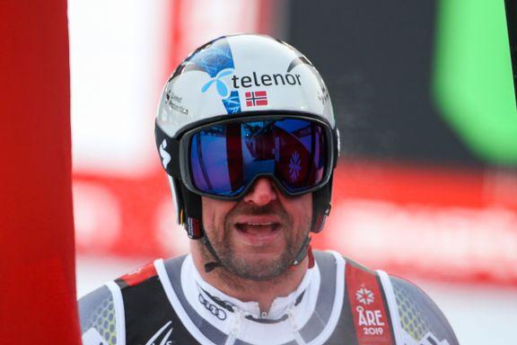 Skuffelse for Svindal og Norge da medaljehåpet ble knust