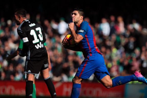 Suarez reddet Barcelona-poeng i sluttsekundene