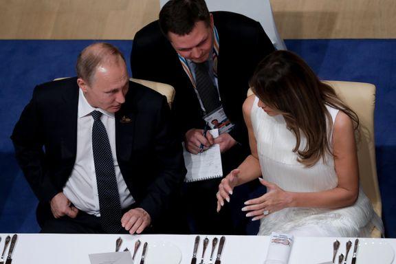 Her er de viktige -og noen mindre viktige hendelser fra G20: Da Putin fikk Melania til bords og Trumps datter tok farens plass ved møtebordet.