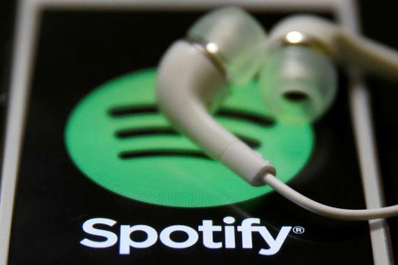 Første overskudd noen gang for Spotify
