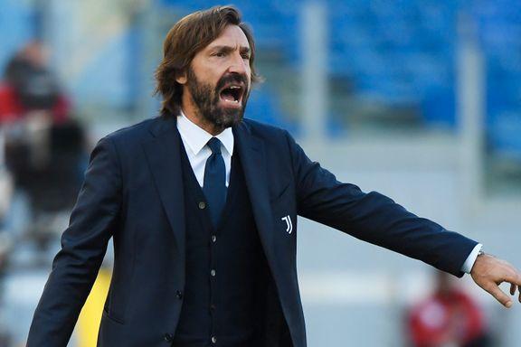 Han er fortsatt pen i tøyet, men ellers er det lite eleganse igjen av Andrea Pirlo (41).