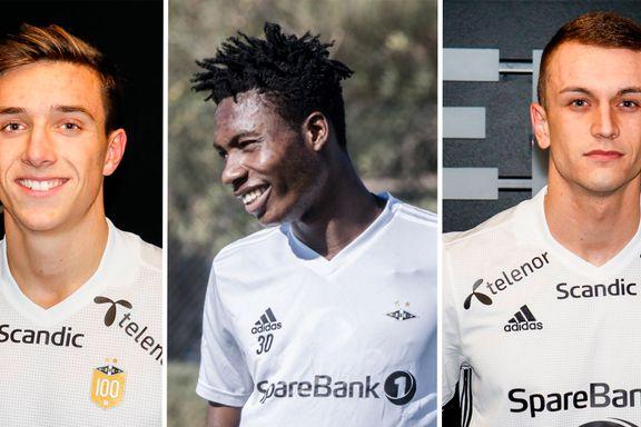 Slik beskriver Bruttern de tre nye RBK-tenåringene – én av dem sammenlignes med United-kjempe