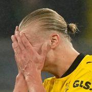 Haaland fortvilet i finaletap for Bayern