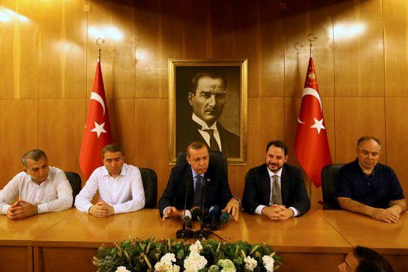 Erdogan om kuppmakerne i Tyrkia: – De vil betale en svært høy pris for sitt svik