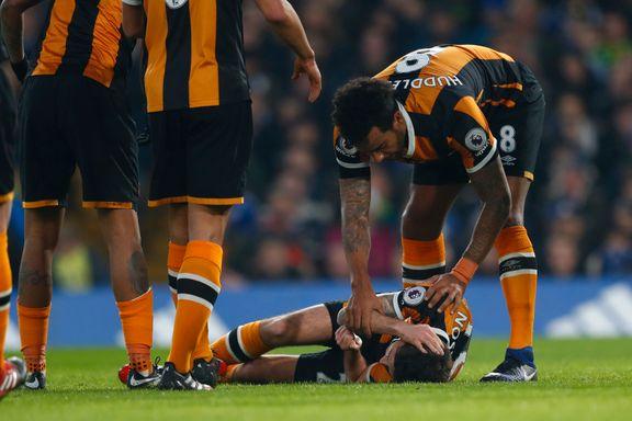 Premier League-spilleren som pådro seg kraniebrudd er utskrevet fra sykehuset