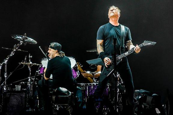 Metallica prøvde seg på «Take on me» i Telenor Arena