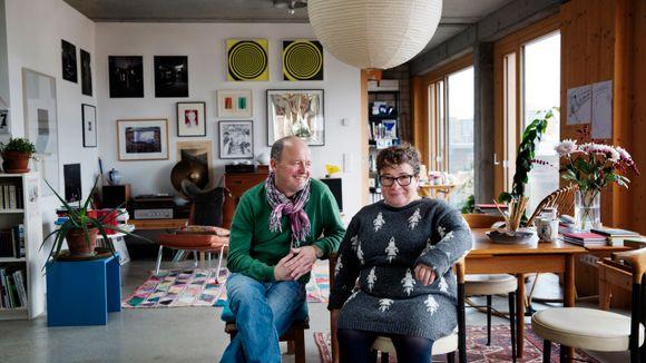 Gjennom co housing kom Florian og Judith endelig inn på