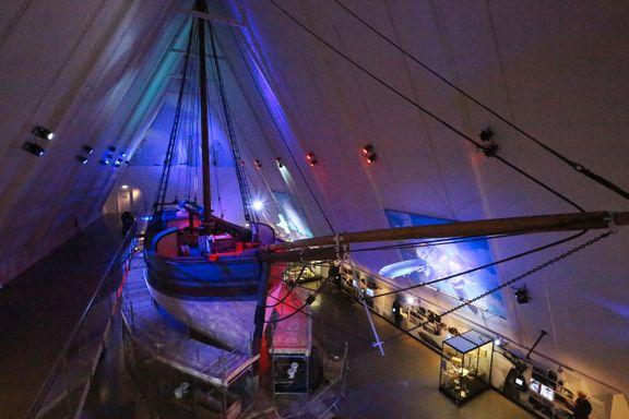 Gjøa: Nå kan du følge den historiske restaureringen av Roald Amundsens skute på nært hold