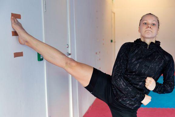 Startet med taekwondo for å holde mobberne unna. Nå er hun OL-aktuell.