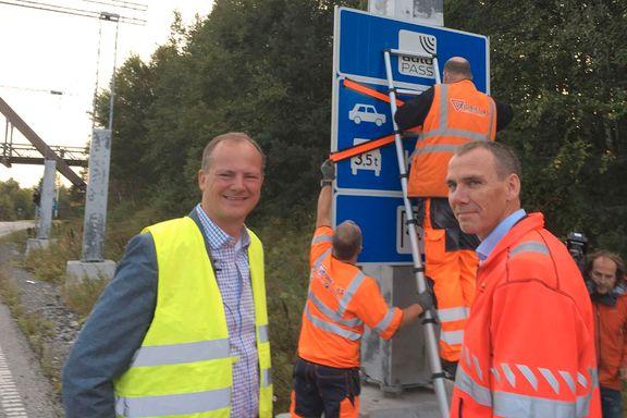 Nå blir det PAUSE i bompengebetalingen i Oslofjordtunnelen