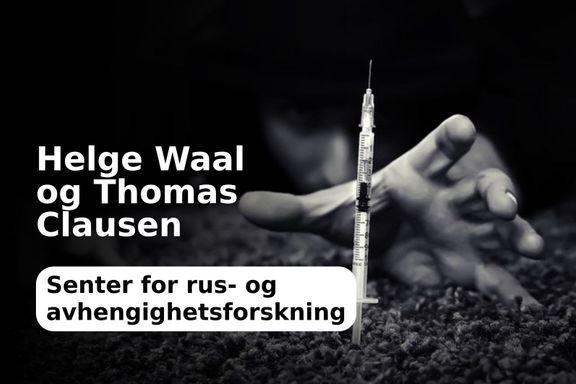 Færre dør av heroin!