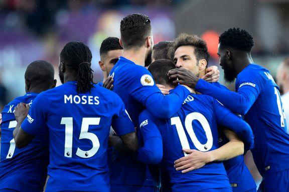 Chelsea fortsatt med i kampen om Champions League-plass etter knepen seier