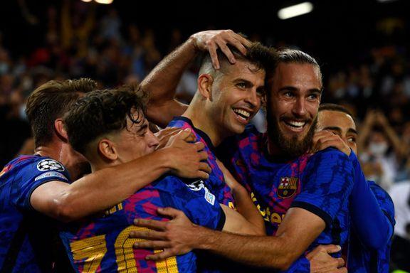 Pique matchvinner for Barcelona