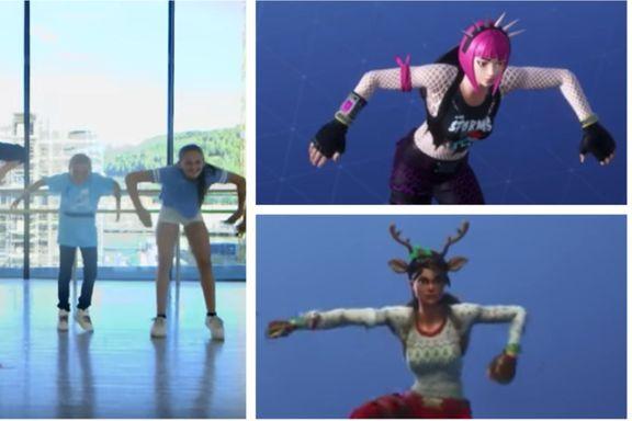 BlimE-dansen har tilsynelatende hentet inspirasjon fra et skytespill. Er det greit?