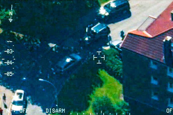 Sivile politibiler fulgte hasjsmuglerne fra Trysil til Oslo. Her blir de pågrepet.