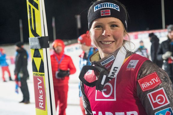 Vet du hvem denne norske jenta er? Hun leder verdenscupen.