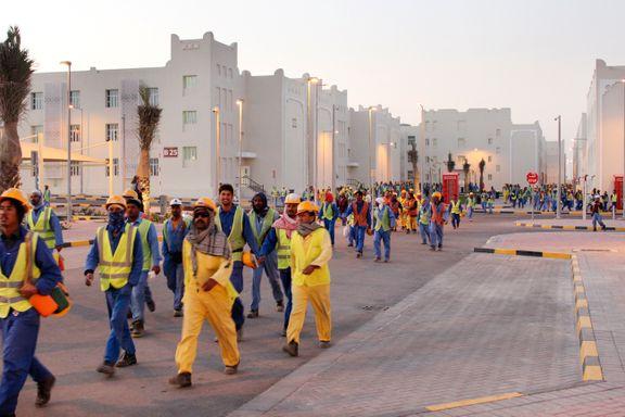 Amnesty: Arbeidere lurt med virustest – ble sendt ut av Qatar