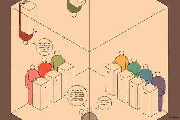 Ikke gi makt til partier som vil bygge det norske korthus