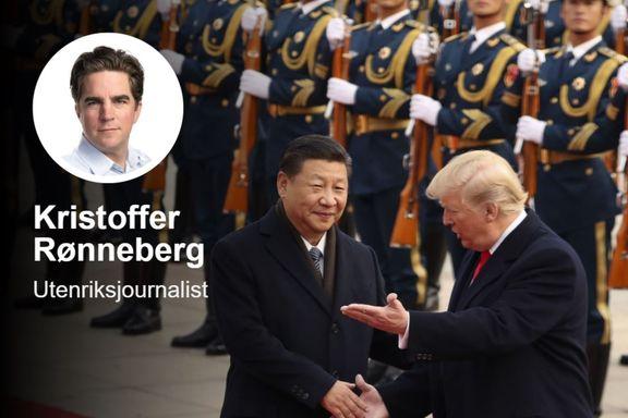 Handelskrigen mellom USA og Kina kan løse seg i løpet av lørdagsmiddagen. Da kan ikke Trump la Xi tape ansikt.