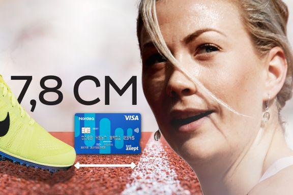 Isabelle Pedersen er et bankkort unna den norske rekorden
