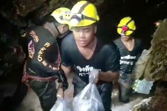 Grottedramaet i Thailand: Oksygennivået begynner å bli kritisk