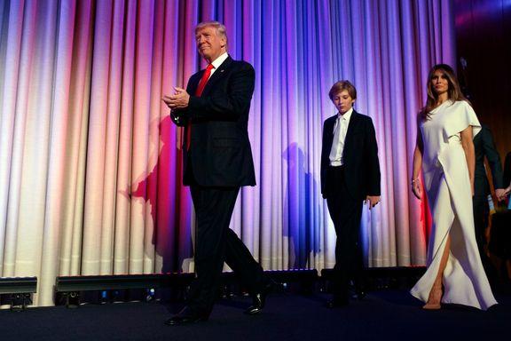 Sosiale medier flommet over av Donald Trump etter USA-valget