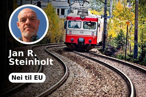 Regjeringens jernbaneforslag undergraver EØS-avtalens dobbeltspor