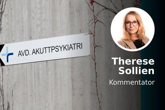 Erna Solberg skulle trappe opp satsingen på psykiatrien. Men opptrapping er blitt nedtrapping.