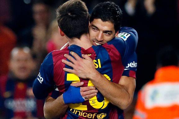 Suárez strålte i Barcelona-seier