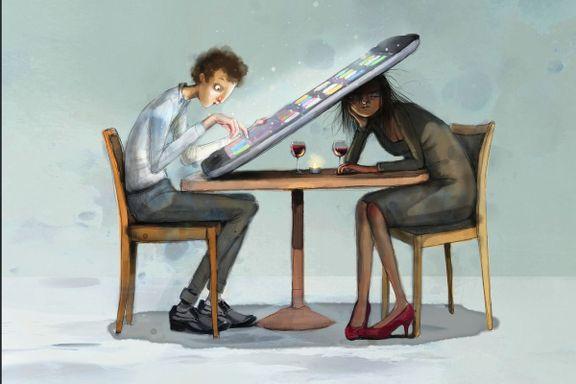 Sånn kan et moderne parforhold se ut, ifølge illustratør Lisa Aisato