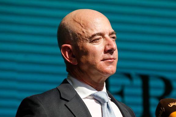 Amazon-sjefen ikke lenger verdens rikeste
