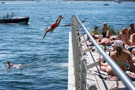 Høyre-topp om badekonflikten: – Vi bør legge mer til rette for bading på Tjuvholmen