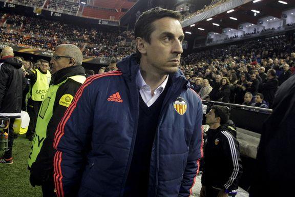 Neville fikk sparken i Valencia: - Ikke et sekund for tidlig