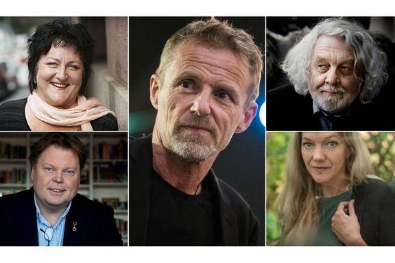 Disse forfatterne er på lønnstoppen