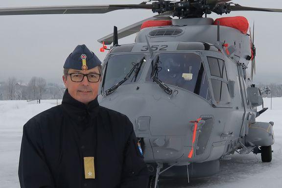 Forsvaret sier at «kontrakten er brutt». I dag landet Norges mareritthelikopter.