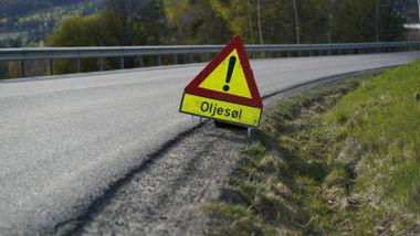 Motorsyklist alvorlig skadd i ulykke ved Bjørkelangen
