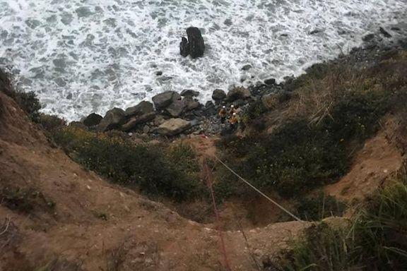 Kvinne overlevde en uke alene etter at bilen kjørte utfor stup
