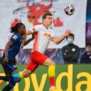 Fikk debuten fra start: Merkelig Sørloth-assist da Leipzig snudde og vant