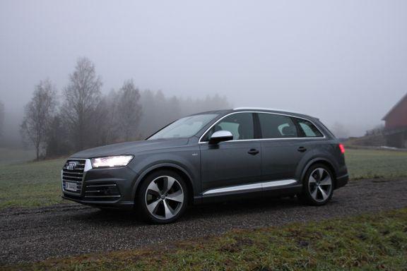 Prøvekjørt Audi SQ7: Dette er en monstertrøkk