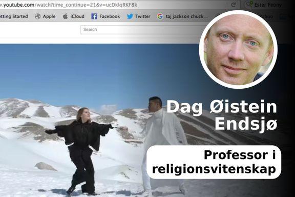 Hva vil NRK gjøre med dette? Klage, nekte å vise bildene eller late som ingenting?
