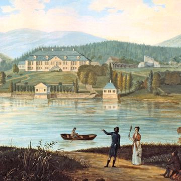 Oslo før:  Bogstad gårds historie er nært knyttet til industrireisningen i Norge