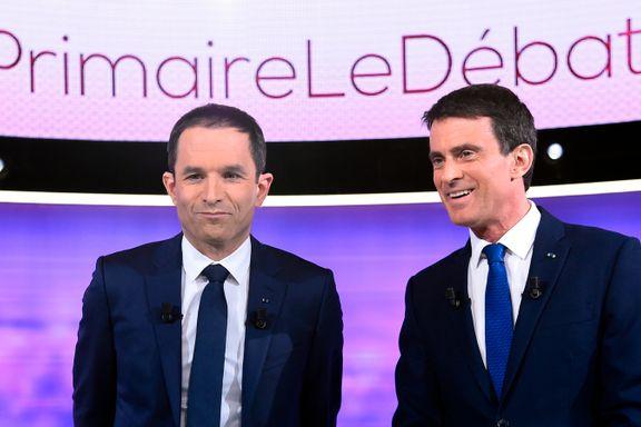 I dag velges sosialistenes presidentkandidat: Disse to kjemper om et politisk konkursbo i Frankrike