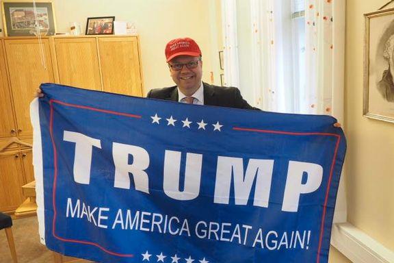 Her er nordmennene som jubler over Trump-seieren