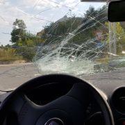 Både bil og bilfører ble avskiltet da politiet så dette
