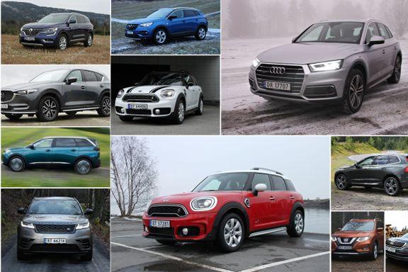 Stor SUV-guide: Disse 11 har vi testet i år