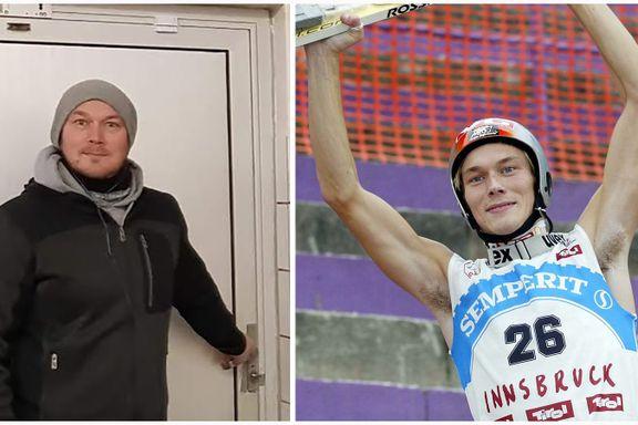 Daniel Forfang orket ikke mer av slankepresset: La på seg 34 kilo da han sluttet som hopper