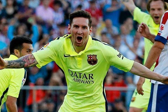 Messis magi var nok til seriegull for Barcelona